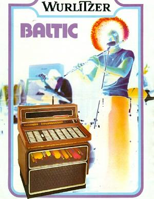 Werbeblatt für die Wurlitzer Baltic