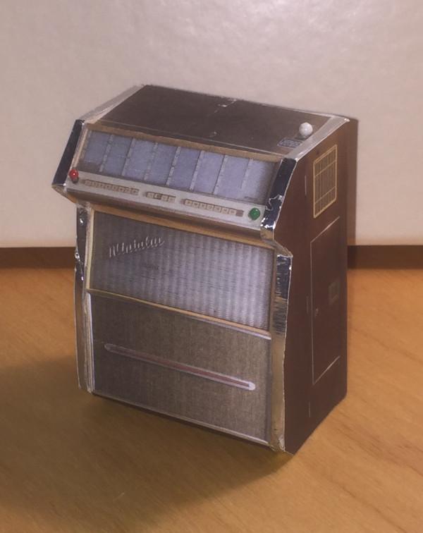 Eine Jukebox als Zigarettenschachtel?
