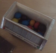 Box mit smarties