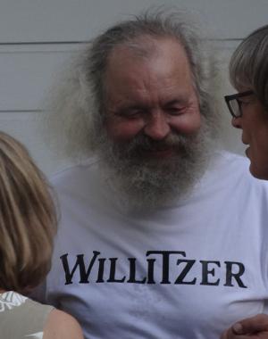 kein Wurlitzer - nein, ein Willitzer T-Shirt...