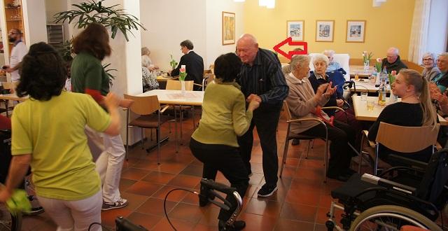Erster Tanzabend im Münchenstift Harlaching